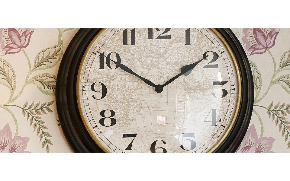 Laura ashley drake wall clock gumiabroncs Choice Image