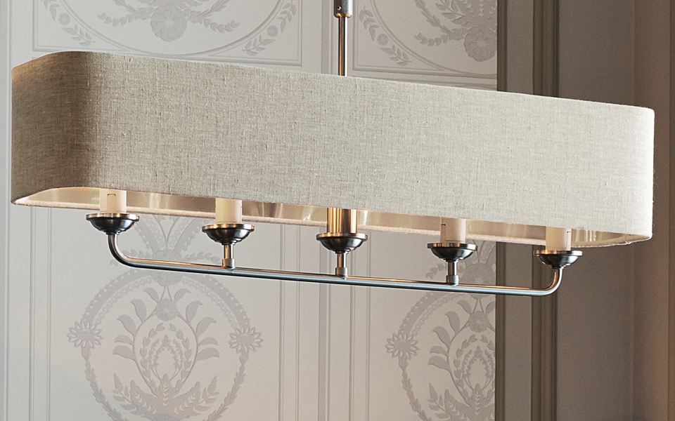 Sorrento Wall Light with Natural Shade  Laura Ashley