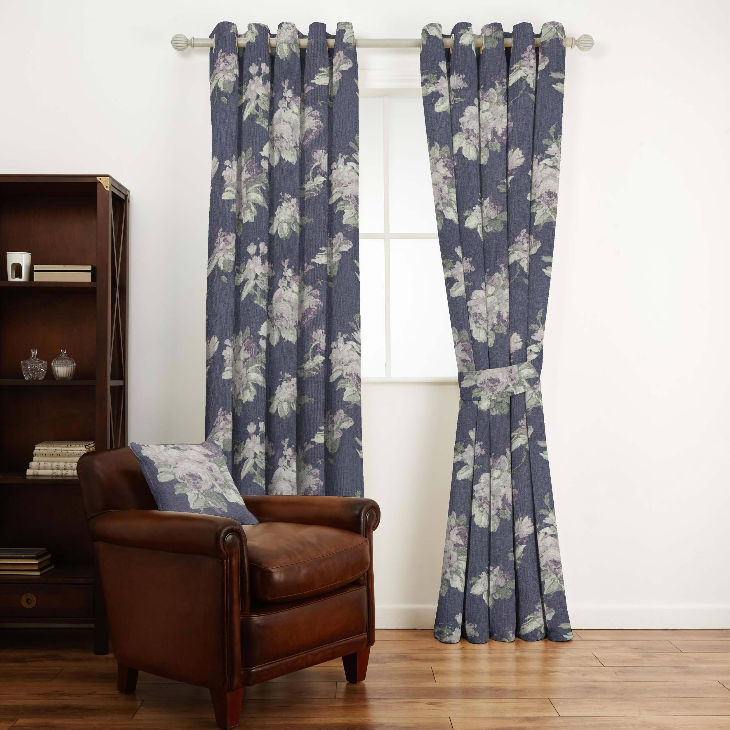 Home Furniture DIY Laura Ashley Designer Cushion Cover VIOLETTA IRIS Fabric Various Sizes Decor