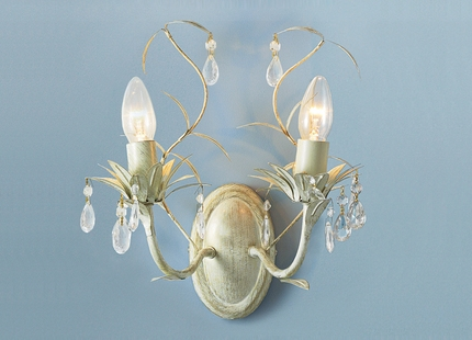 Laura Ashley Lavenham Wall Lights : LAURA ASHLEY