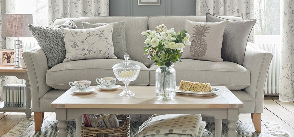 Home LAURA ASHLEY - Laura ashley grey living room
